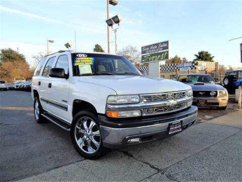 2003 Chevrolet Tahoe for sale at Save Auto Sales in Sacramento CA