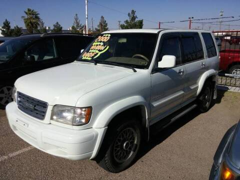 2000 Isuzu Trooper for sale at 4 U MOTORS in El Paso TX