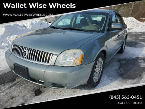 2007 Mercury Montego for sale at Wallet Wise Wheels in Montgomery NY