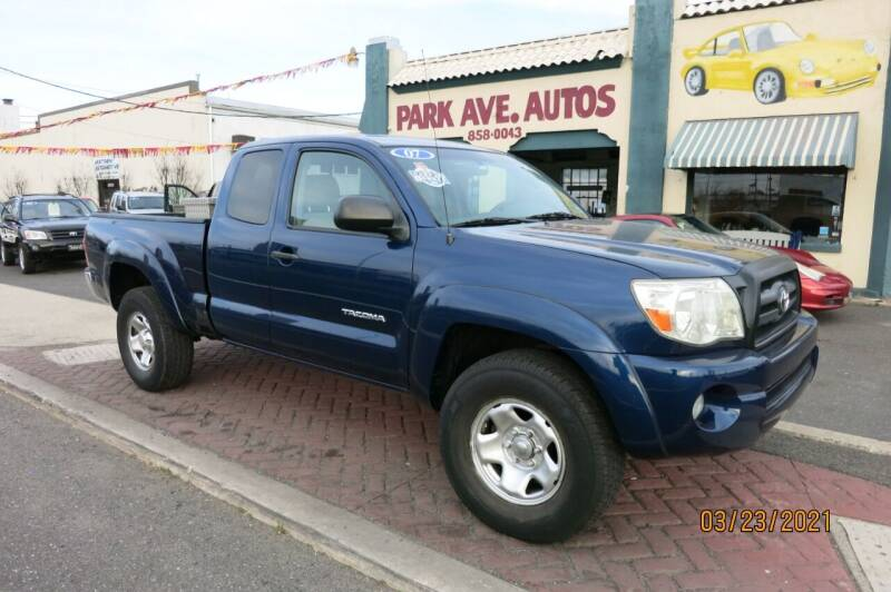 2007 Toyota Tacoma for sale at PARK AVENUE AUTOS in Collingswood NJ