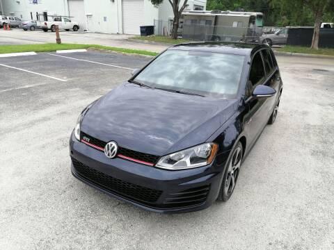 2017 Volkswagen Golf GTI for sale at Best Price Car Dealer in Hallandale Beach FL