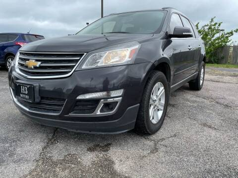 2014 Chevrolet Traverse for sale at H3 MOTORS in Dickinson TX