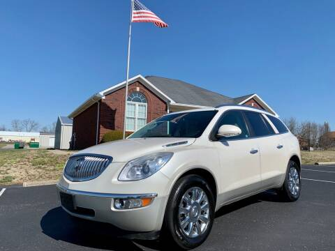 2012 Buick Enclave for sale at HillView Motors in Shepherdsville KY