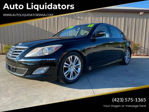 2012 Hyundai Genesis for sale at Auto Liquidators in Bluff City TN