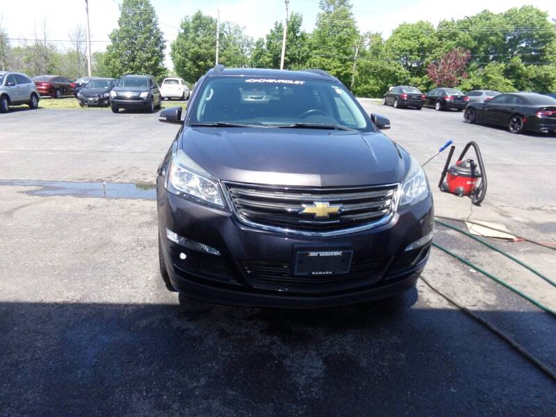 2014 Chevrolet Traverse for sale at Pool Auto Sales Inc in Spencerport NY