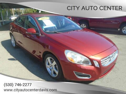 2012 Volvo S60 for sale at City Auto Center in Davis CA