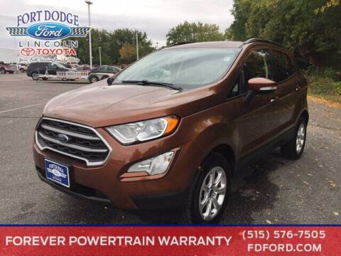2020 Ford EcoSport for sale at Fort Dodge Ford Lincoln Toyota in Fort Dodge IA