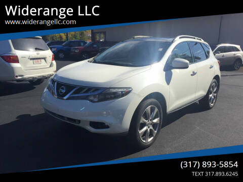 2014 Nissan Murano for sale at Widerange LLC in Greenwood IN