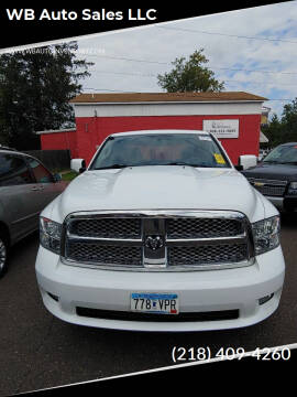 2010 Dodge Ram Pickup 1500 for sale at WB Auto Sales LLC in Barnum MN