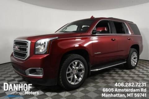 2017 GMC Yukon for sale at Danhof Motors in Manhattan MT
