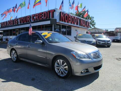 2009 Infiniti M35 for sale at Giant Auto Mart 2 in Houston TX