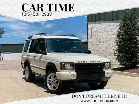 2004 Land Rover Discovery for sale at Car Time in Philadelphia PA