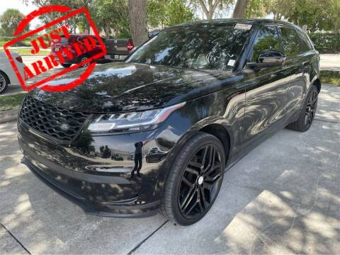 2018 Land Rover Range Rover Velar for sale at Florida Fine Cars - West Palm Beach in West Palm Beach FL