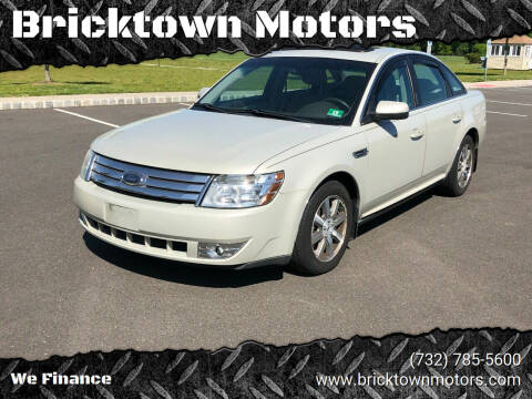 2008 Ford Taurus for sale at Bricktown Motors in Brick NJ