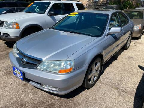 2002 Acura TL for sale at 5 Stars Auto Service and Sales in Chicago IL