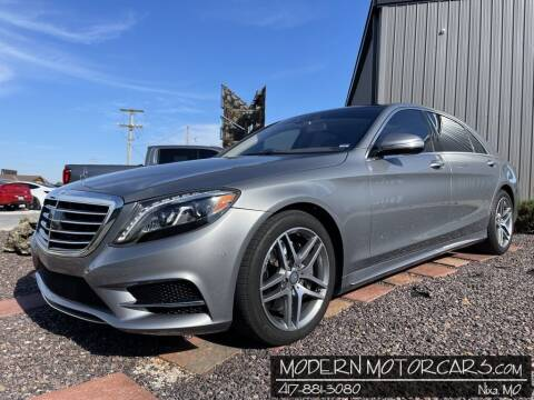 2015 Mercedes-Benz S-Class for sale at Modern Motorcars in Nixa MO