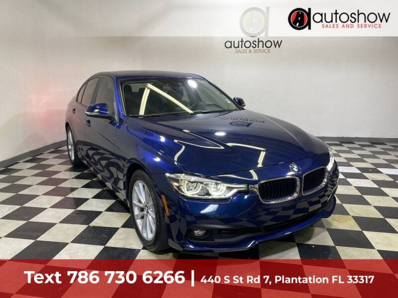 2018 BMW 3 Series for sale at AUTOSHOW SALES & SERVICE in Plantation FL