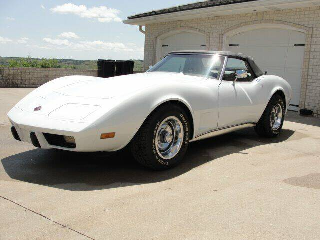 1975 Chevrolet Corvette for sale at Frieling Auto Sales in Manhattan KS