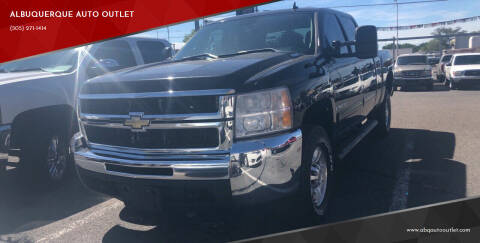 2009 Chevrolet Silverado 2500HD for sale at ALBUQUERQUE AUTO OUTLET in Albuquerque NM