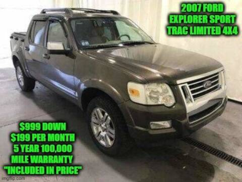2007 Ford Explorer Sport Trac for sale at D&D Auto Sales, LLC in Rowley MA