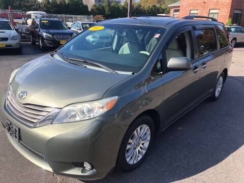 2011 Toyota Sienna for sale at KINGSTON AUTO SALES in Wakefield RI
