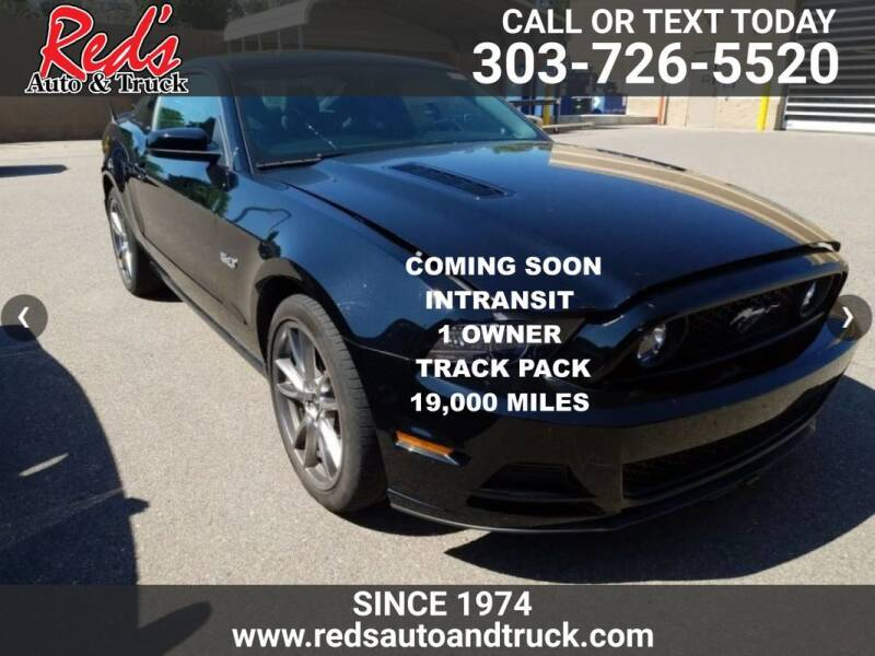 2014 Ford Mustang for sale at Red's Auto and Truck in Longmont CO