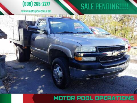 2001 Chevrolet Silverado 3500 for sale at Motor Pool Operations in Hainesport NJ