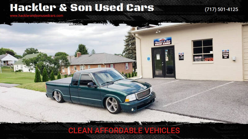 1998 GMC Sonoma for sale at Hackler & Son Used Cars in Red Lion PA