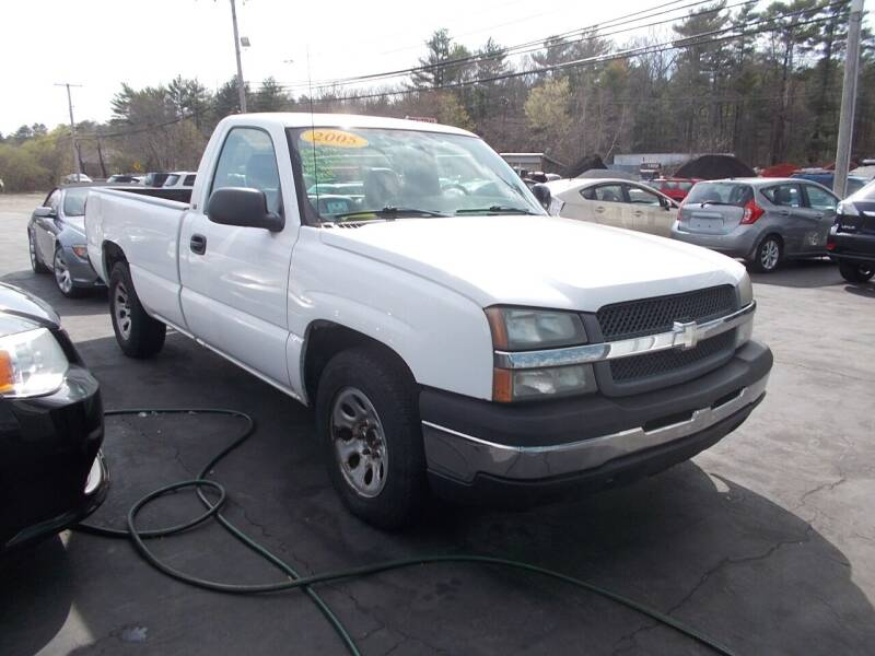 2005 Chevrolet Silverado 1500 for sale at MATTESON MOTORS in Raynham MA