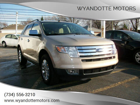 2007 Ford Edge for sale at Wyandotte Motors in Wyandotte MI