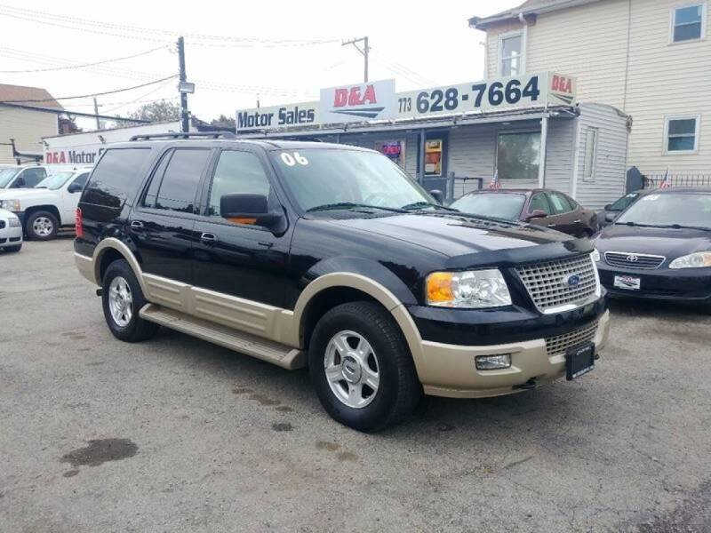 2006 Ford Expedition for sale at D & A Motor Sales in Chicago IL