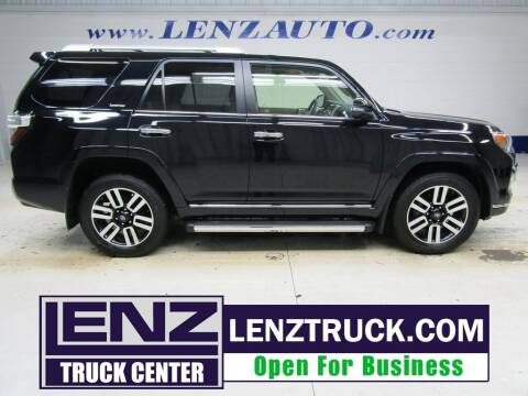 2018 Toyota 4Runner for sale at LENZ TRUCK CENTER in Fond Du Lac WI