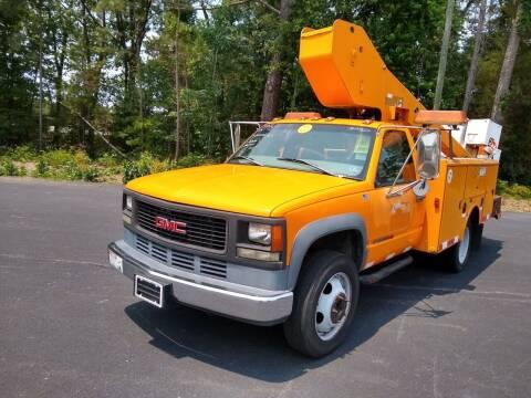 1998 GMC Sierra 3500HD 30ft Bucket Trk for sale at James River Motorsports Inc. in Chester VA