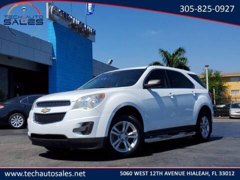 2013 Chevrolet Equinox for sale at Tech Auto Sales in Hialeah FL