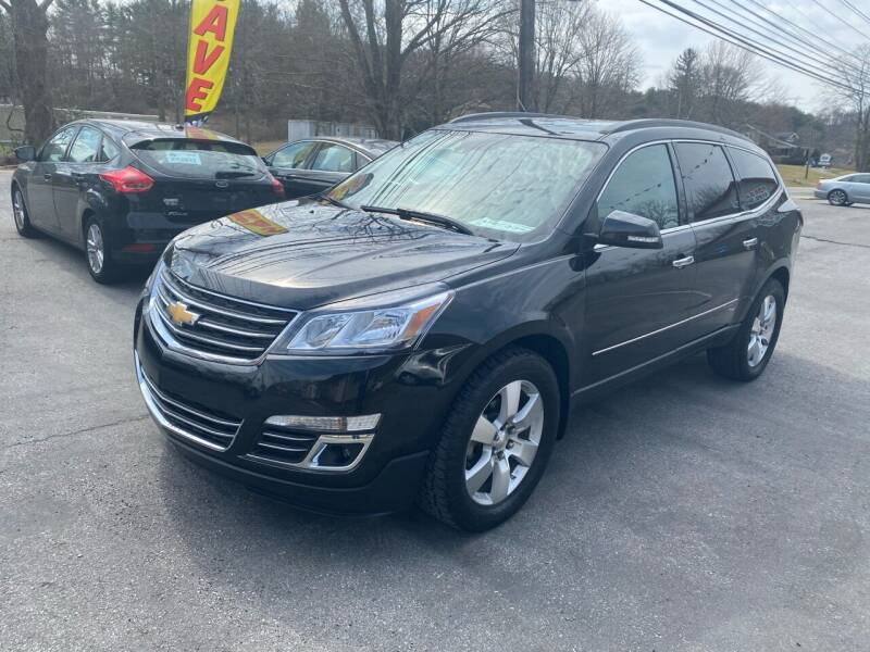 2015 Chevrolet Traverse for sale at THE AUTOMOTIVE CONNECTION in Atkins VA