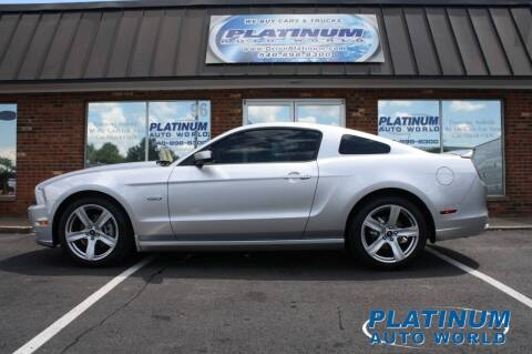 2014 Ford Mustang for sale at Platinum Auto World in Fredericksburg VA