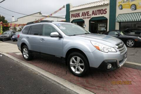 2013 Subaru Outback for sale at PARK AVENUE AUTOS in Collingswood NJ