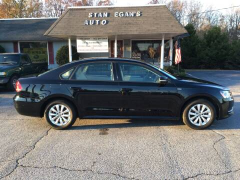 2015 Volkswagen Passat for sale at STAN EGAN'S AUTO WORLD, INC. in Greer SC