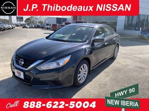 2018 Nissan Altima for sale at J P Thibodeaux Used Cars in New Iberia LA