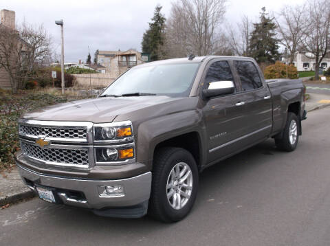 2014 Chevrolet Silverado 1500 for sale at Eastside Motor Company in Kirkland WA