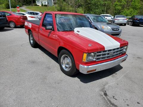 1987 Chevrolet S-10 for sale at DISCOUNT AUTO SALES in Johnson City TN