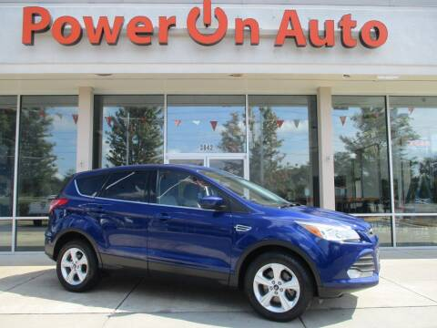 2016 Ford Escape for sale at Power On Auto LLC in Monroe NC
