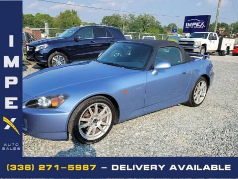 2005 Honda S2000 for sale at Impex Auto Sales in Greensboro NC