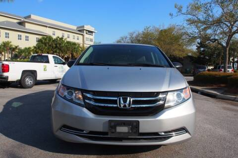 2014 Honda Odyssey for sale at Gulf Financial Solutions Inc DBA GFS Autos in Panama City Beach FL