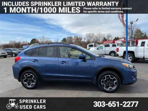 2013 Subaru XV Crosstrek for sale at Sprinkler Used Cars in Longmont CO