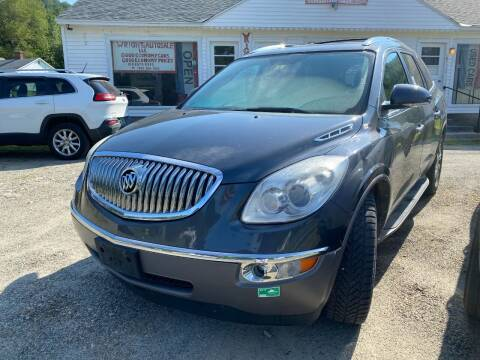 2011 Buick Enclave for sale at Wright's Auto Sales LLC in Townshend VT