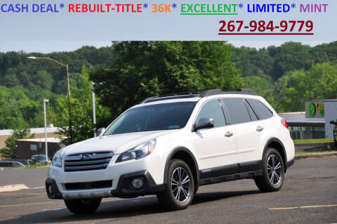 2014 Subaru Outback for sale at T CAR CARE INC in Philadelphia PA