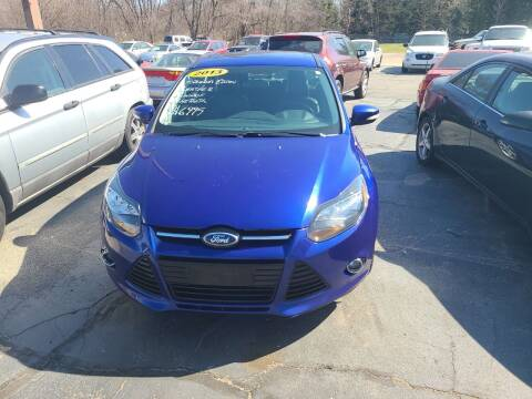2013 Ford Focus for sale at All State Auto Sales, INC in Kentwood MI
