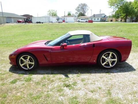 2009 Chevrolet Corvette for sale at Bob Patterson Auto Sales in East Alton IL