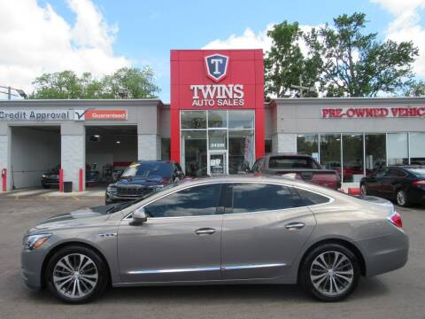 2017 Buick LaCrosse for sale at Twins Auto Sales Inc in Detroit MI